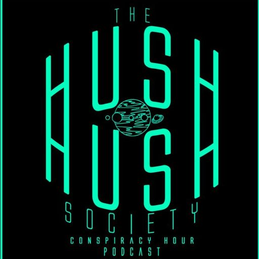 Hush Hush Society Conspiracy Hour Logo